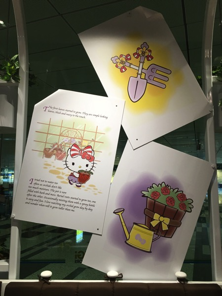 Hello Kitty Orchid Garden Singapore Cafe - storyline part2