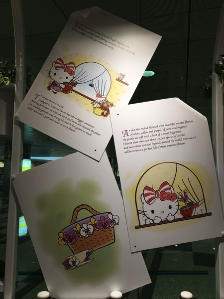 Hello Kitty Orchid Garden Singapore Cafe - storyline part3