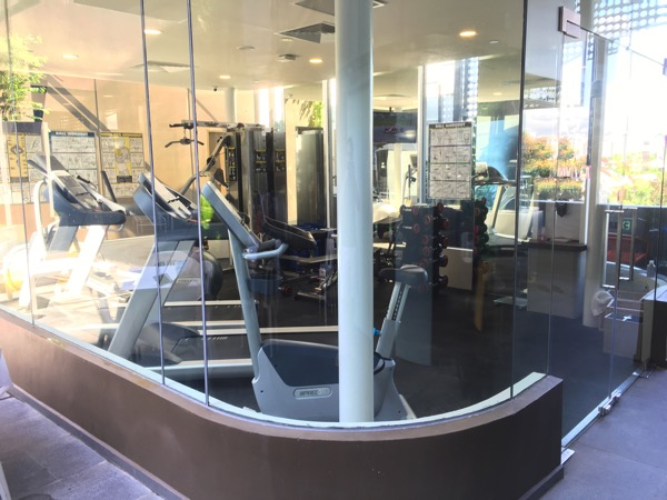 IBIS Styles Macpherson (Accor group hotel chain) - Fitness room (exterior view)