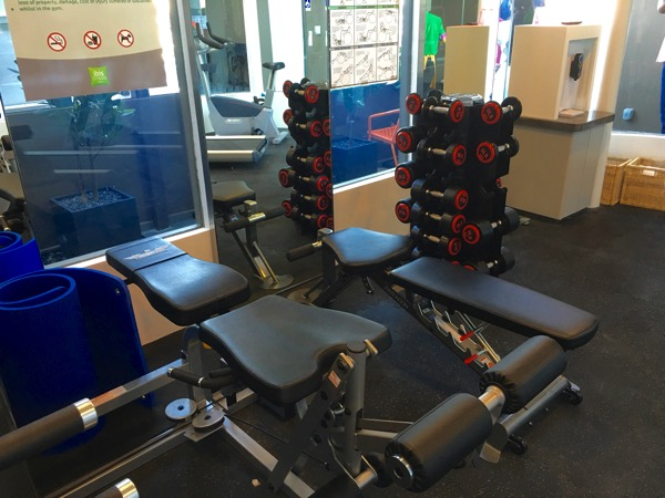 IBIS Styles Macpherson (Accor group hotel chain) - Fitness room (interior view 2)