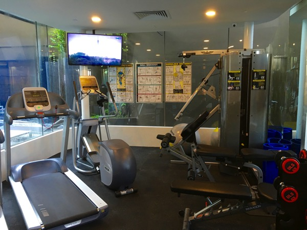 IBIS Styles Macpherson (Accor group hotel chain) - Fitness room (interior view)
