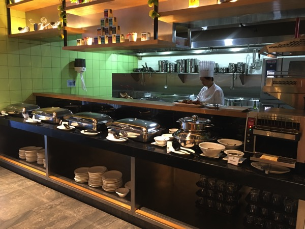 IBIS Styles Macpherson (Accor group hotel chain) - chat and chow dining restaurant (chef kitchen area)