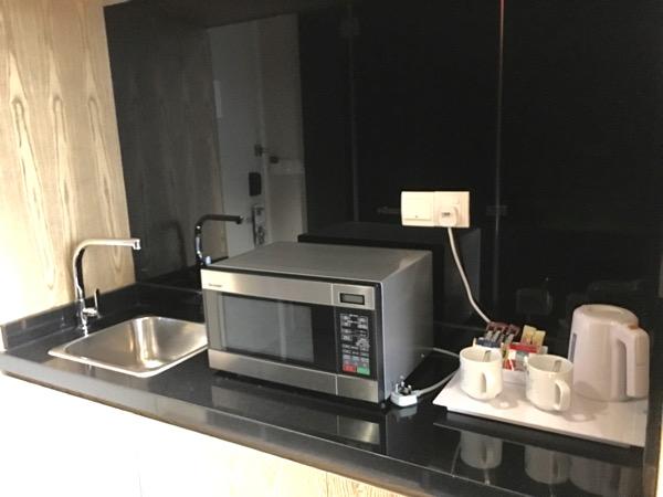 IBIS Styles Macpherson (Accor group hotel chain) - kichenette area