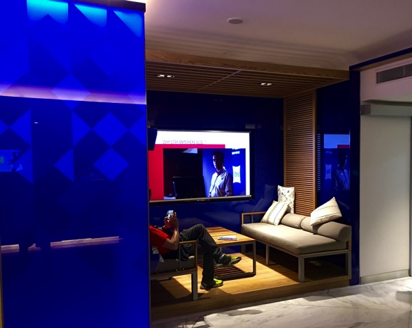 IBIS Styles Macpherson (Accor group hotel chain) - lobby reception