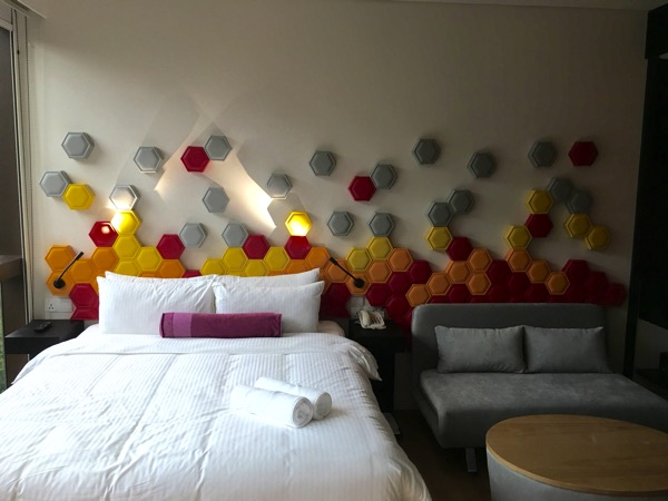 IBIS Styles Macpherson (Accor group hotel chain) - room (bed with sofa bed)
