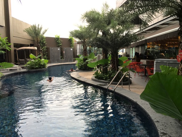IBIS Styles Macpherson (Accor group hotel chain) - swimming pool
