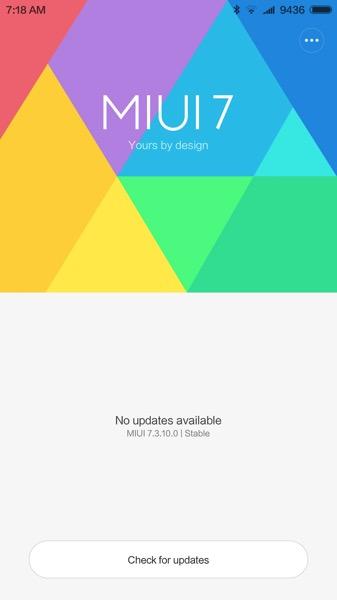 Xiaomi Mi 5 (小米手机5) Smartphone - MIUI 7