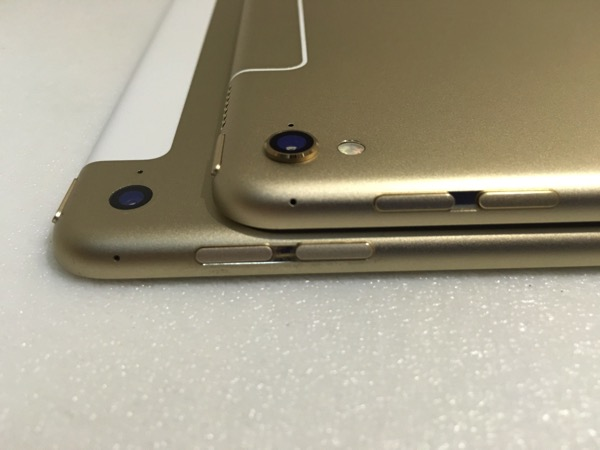 iPad Pro 9.7inch - camera and flash