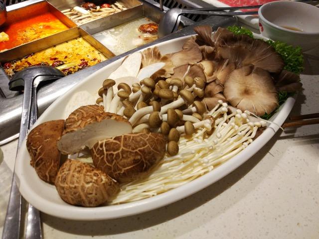 海底捞火锅 Hai Di Lao Hot Pot - Mushrooms