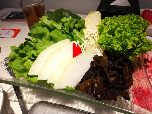海底捞火锅 Hai Di Lao Hot Pot - Vegetables