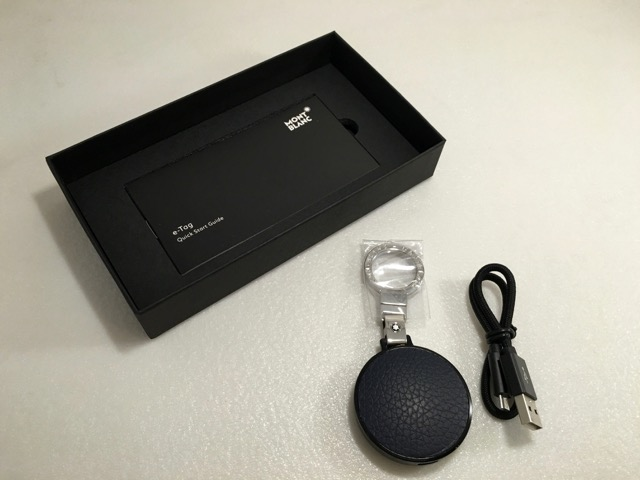 Montblanc eTag - full kit accessories