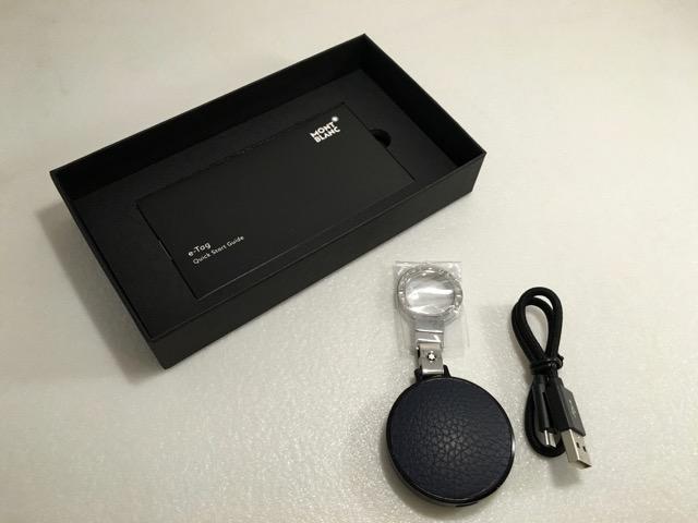 Montblanc eTag - full kit accessories