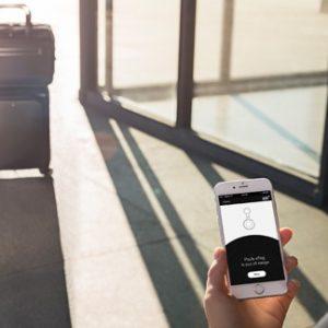 Montblanc eTag - luggage tracking