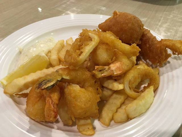 Nom La La (Bakerzin) at Safra Punggol - Fish & Chips