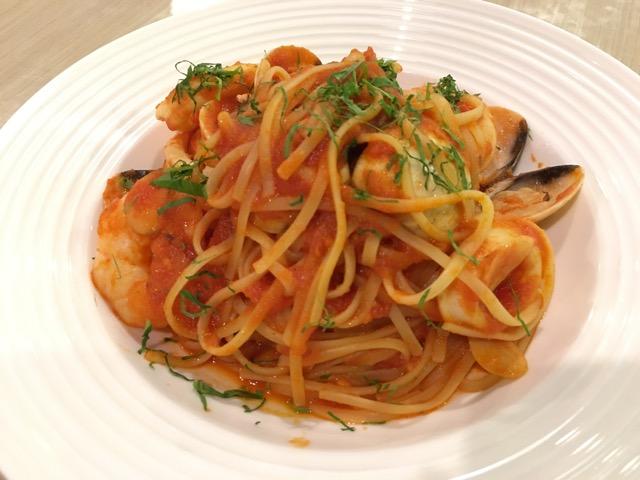 Nom La La (Bakerzin) at Safra Punggol - Seafood Pasta