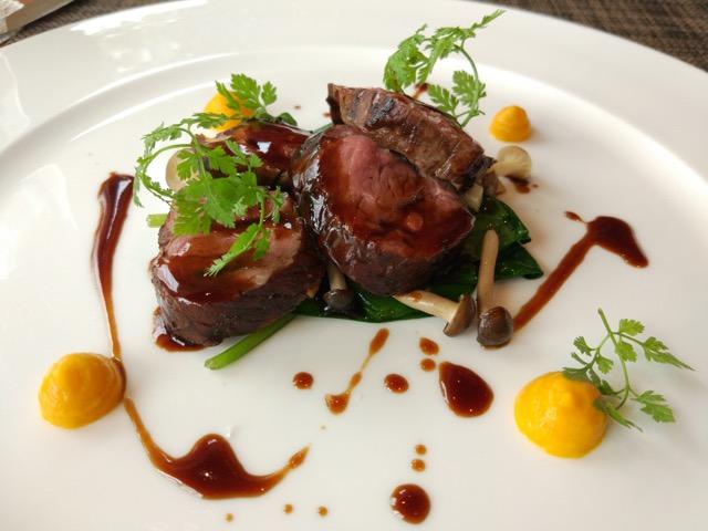 RWS Osia Restaurant - Lamb Rump