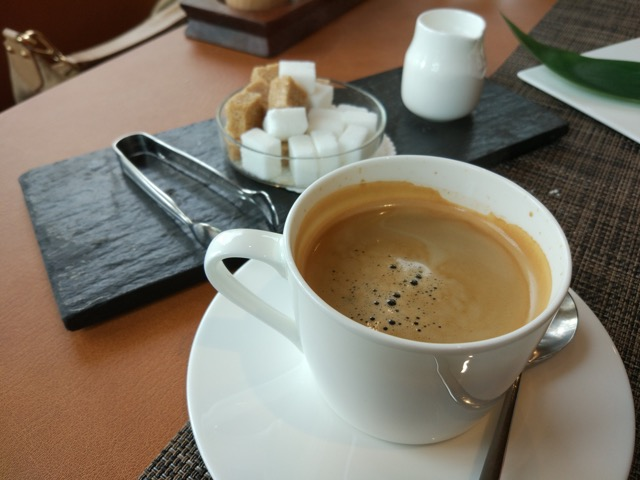 RWS Osia Restaurant - Long Black coffee
