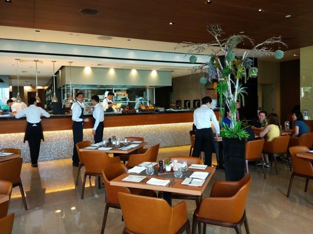 RWS Osia Restaurant - inside restaurant (view 1)