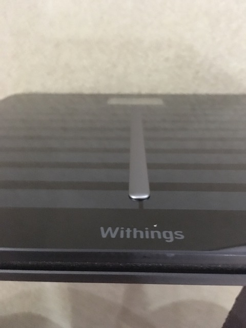 Withings Body Cardio Weighing Scale (WBS04) - front view