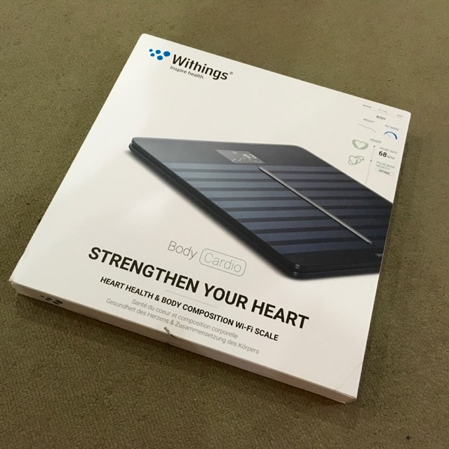 Withings Body Cardio Scale >> Finally the new Withings Body Cardio brings advanced scale ...