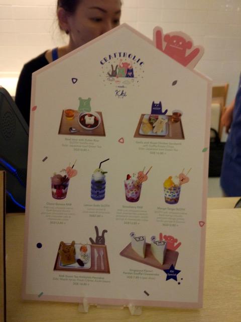 craftholic-singapore-pop-up-cafe-food-menu