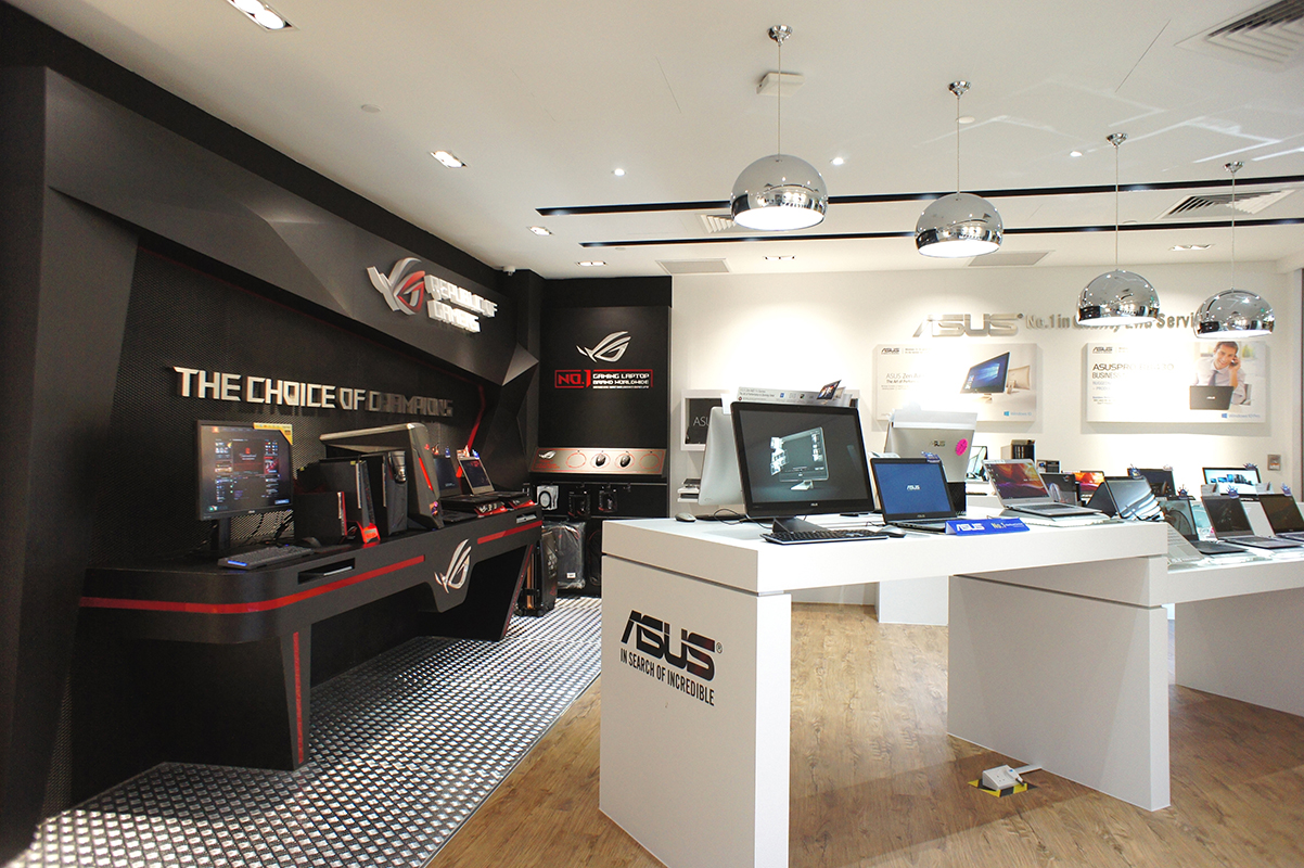 asus celebrates the official opening of its brand store at