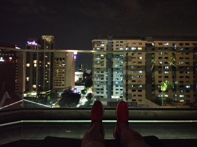 mercure-bugis-singapore-hotel-review-executive-loft-room-night-view-2