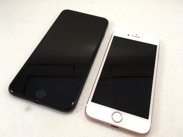 iphone 7 plus matte black front. iphone-7-plus-review-compare-iphone-7-plus- iphone 7 plus matte black front