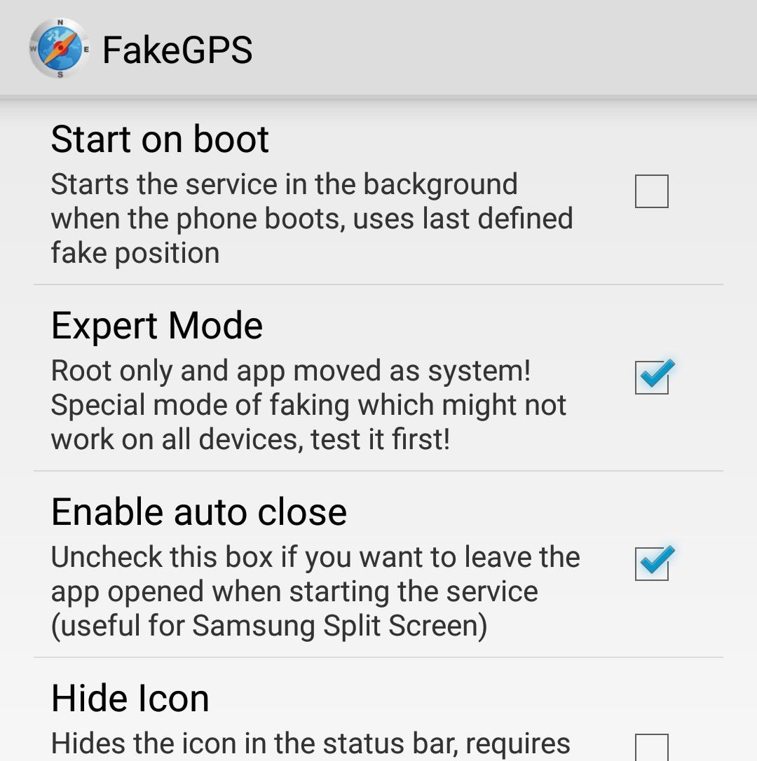Guide for Pokemon GO - Spoof GPS Location on rooted Android phone