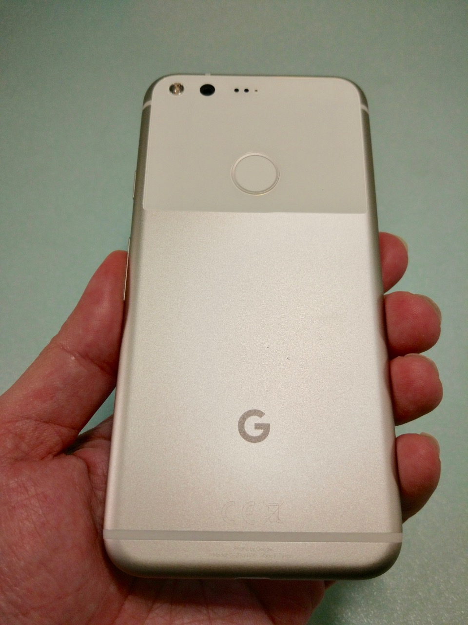 google-pixel-review-phone-back-view