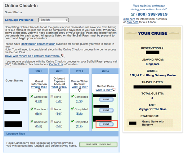 Cruise Planner  Royal Caribbean Blog