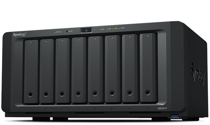 The new Synology DiskS...M.2 In Pcie Slot
