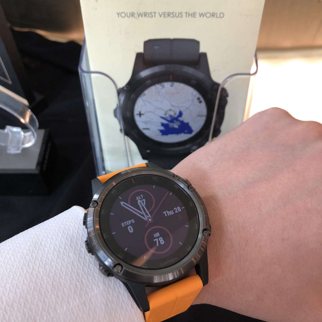 Garmin Sets New Heights For The All New Fenix 5 Plus Series Press