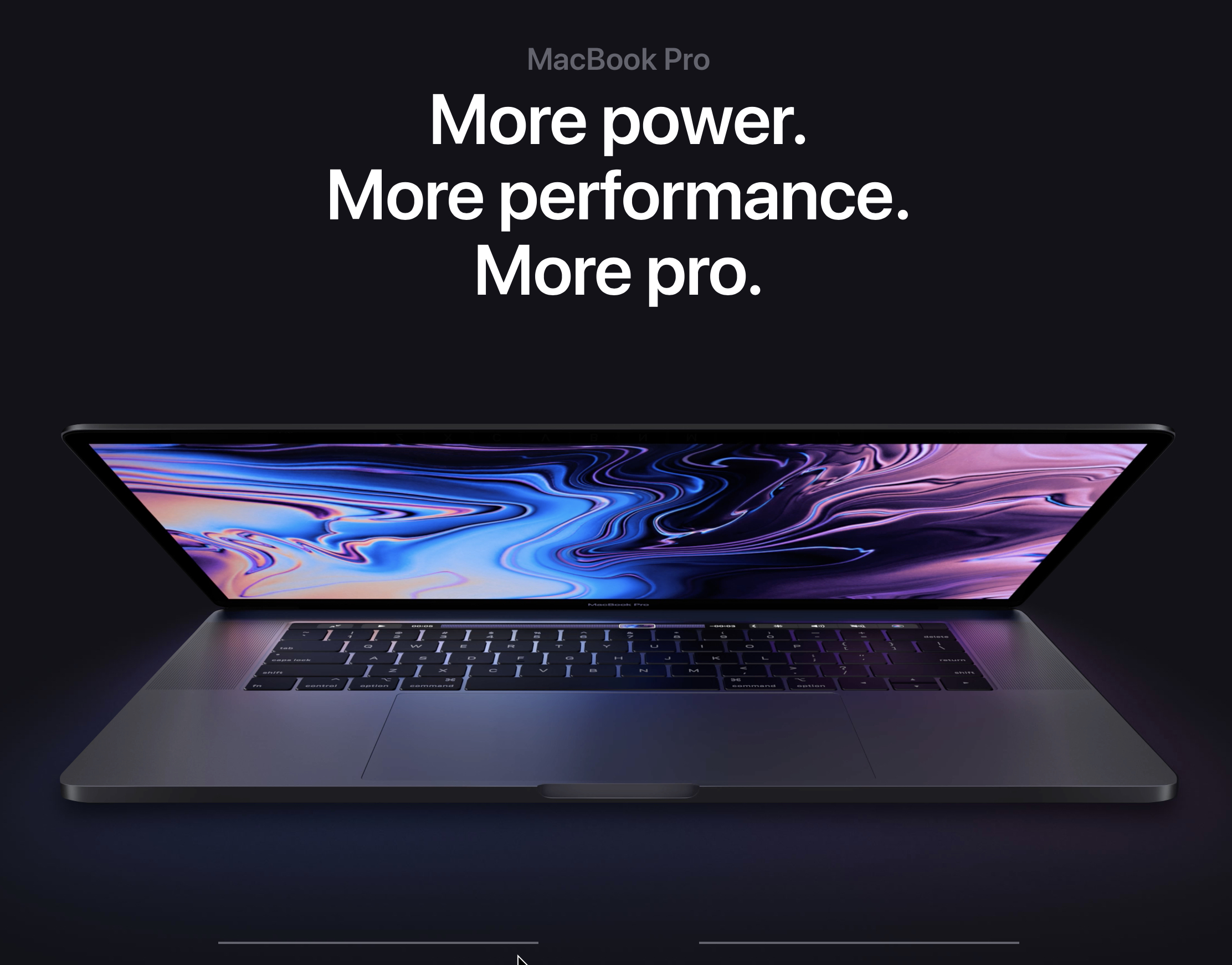 Awesome new MacBook Pro 13