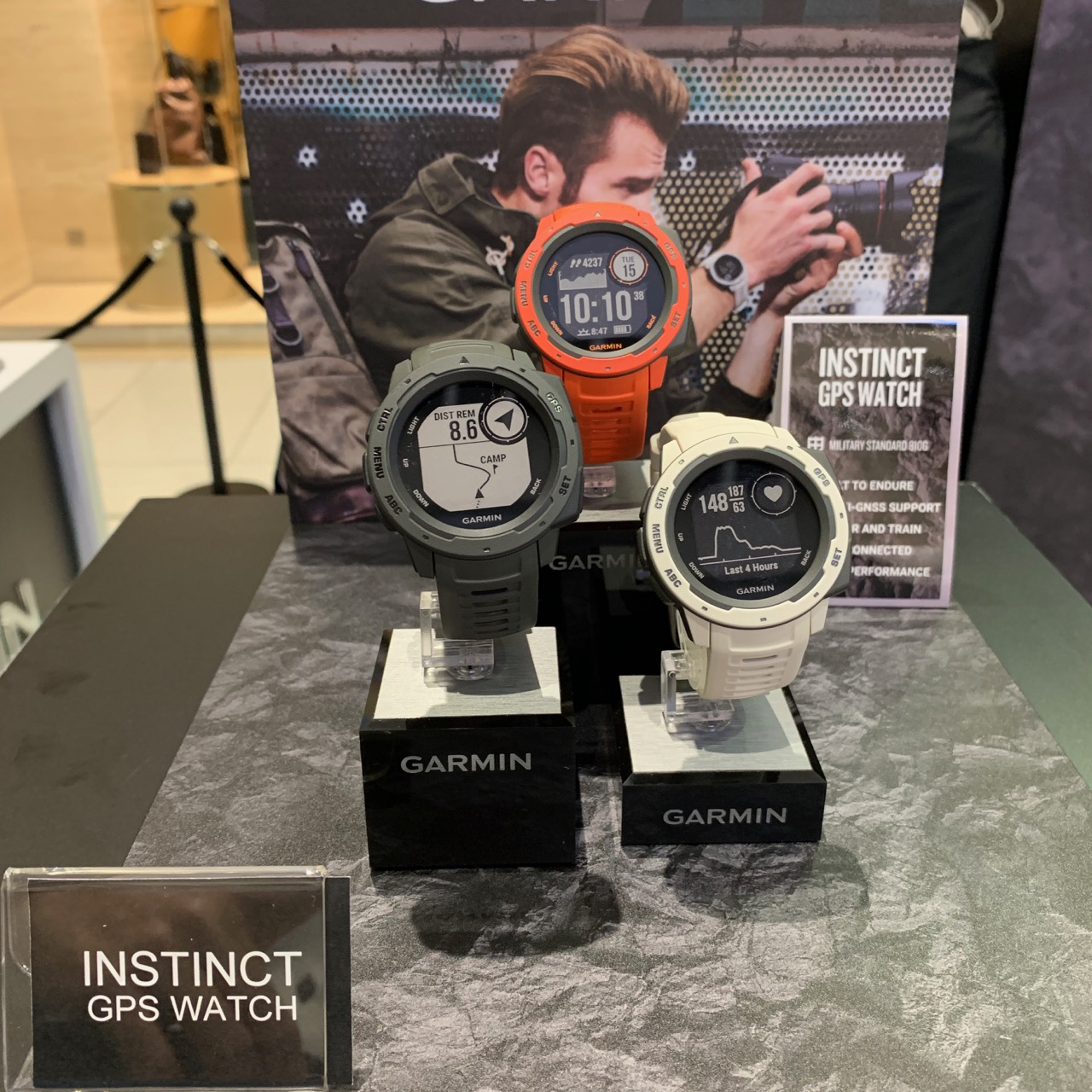 All new product line with Garmin Instinct - truly a GPS